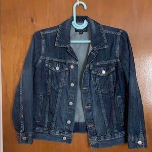 Lucky Brand dark blue jean jacket